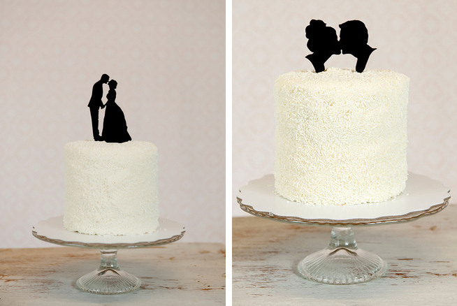 Silhouette-Wedding-Cake-Topper