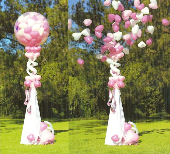 Incoming search terms deco gros ballon; decor jardin pour messe