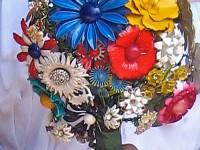 bouquet boche fleurs